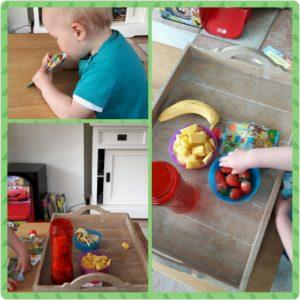 gastouder gastouderopvang BuitenGewoon kinderopvang Berkel-Enschot Tilburg Claudia Vermeulen activiteiten ontdekken leren spelensmoothies fruit gezond proeven eten vitamine's