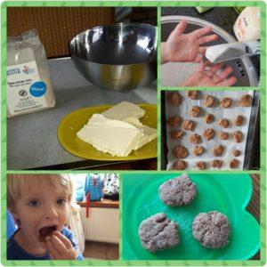 Gastouder Gastoudervang Kinderopvang BuitenGewoon Berkel-Enschot Tilburg natuur gezinsleven buiten spelen leren ontdekken koekjes bakken gezond voeding koken helpen